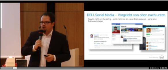 SlidePresenter_wideo z prezentacji i slajdy z PowerPointa