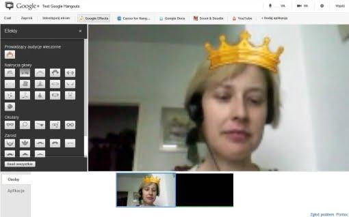 Google Hangouts Spotkania 14