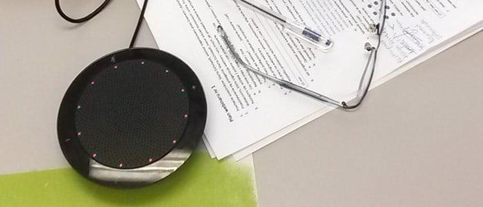 kamerka internetowa i mikrofon do webinarium