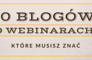 blogi o webinarach