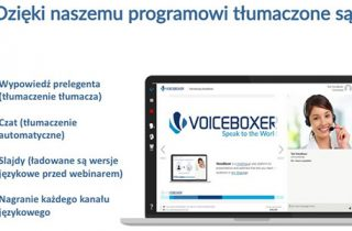 VoiceBoxer program do webinarów