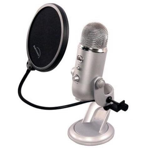 mikrofon blue yeti popfiltr