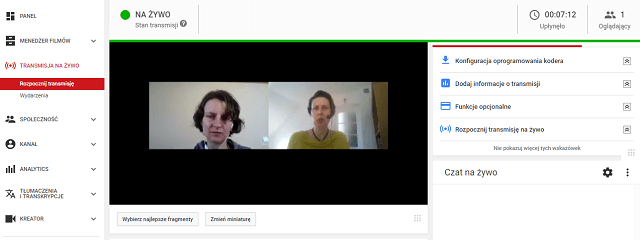 Crowdcast program do webinarow HTML5