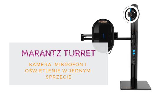 Marantz Turret Kamera Mikrofon I Oświetlenie Do Webinarów