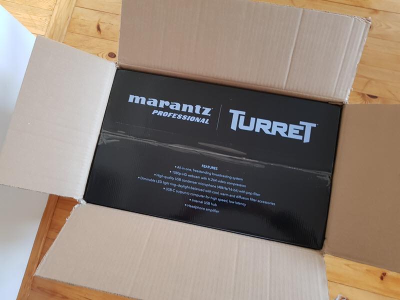 Marantz Turret unboxing
