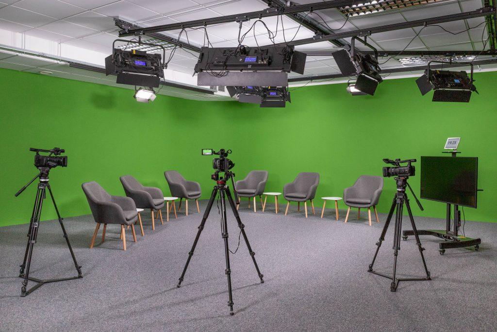 Studio Webcomm green screen